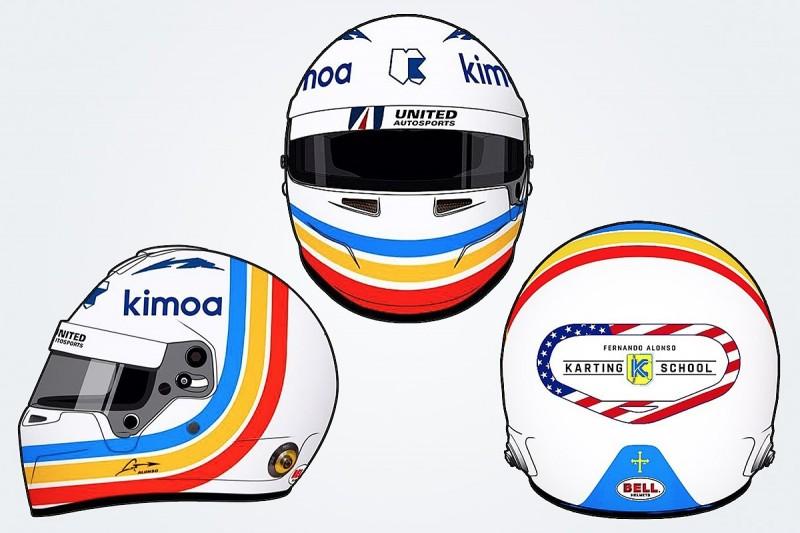 Fernando Alonso reveals special helmet design for Daytona 24 Hours