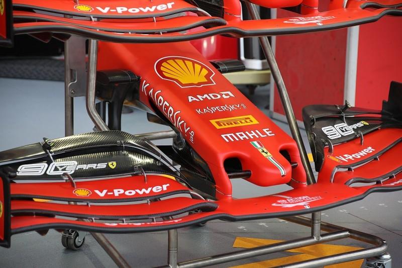Ferrari unveils new Formula 1 nose design for Singapore GP