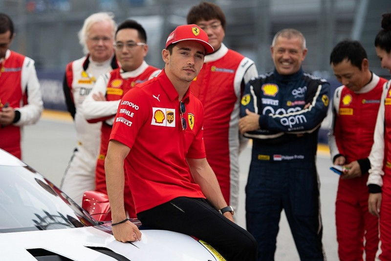 """Leclerc trying to """"focus on negatives"""" after back-to-back F1 wins"""