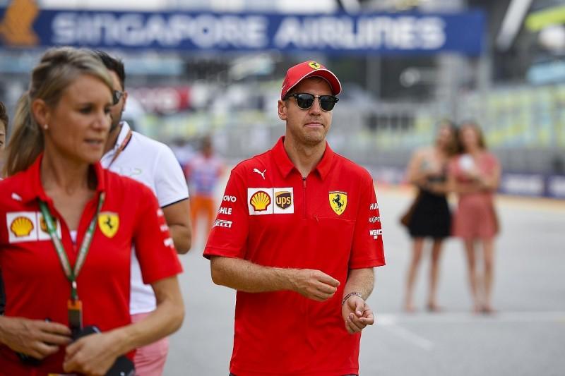 Ricciardo: Vettel only needs one F1 race to rebound from slump