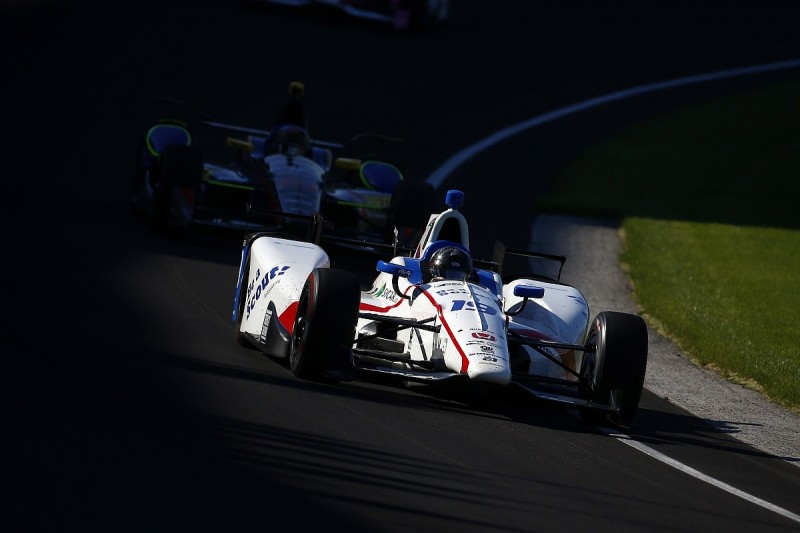 Indianapolis 500 practice: Gabby Chaves leads for Dale Coyne Racing