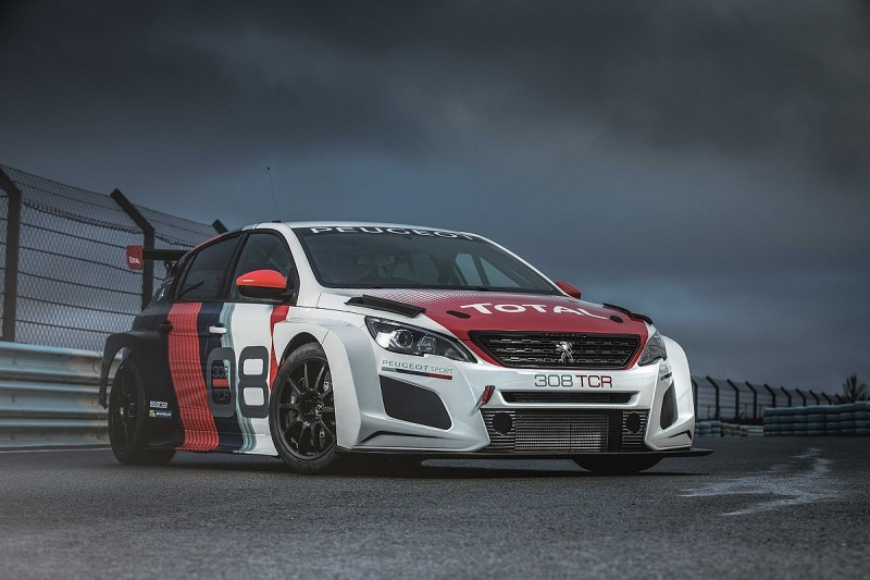 Peugeot reveals upgraded 308TCR car for new World Touring Car Cup