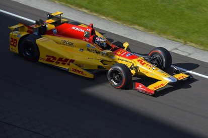 Indianapolis 500 practice: Ryan Hunter-Reay leads Wednesday