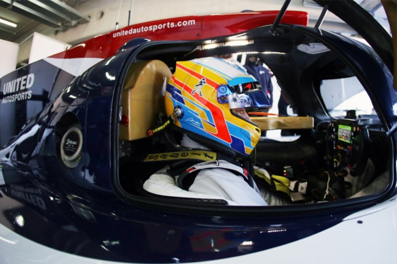Fernando Alonso preparing for first test at Daytona this week