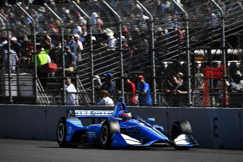 "Felix Rosenqvist: IndyCar is ""toughest beast"""