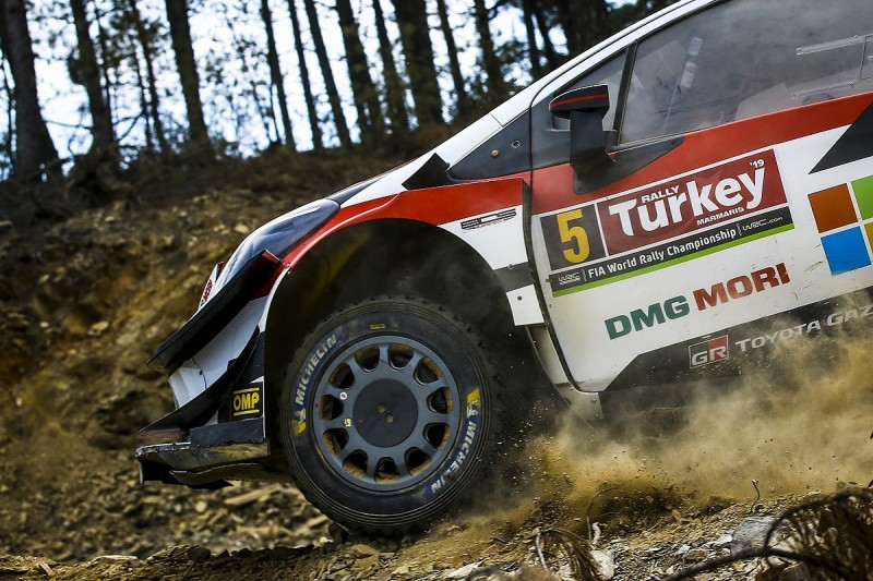 WRC needs run-flat style tyres for Turkey - Toyota's Makinen