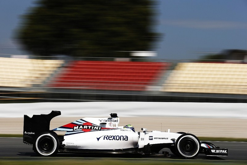 Williams rear wing F1 testing focused on 2016 weaknesses