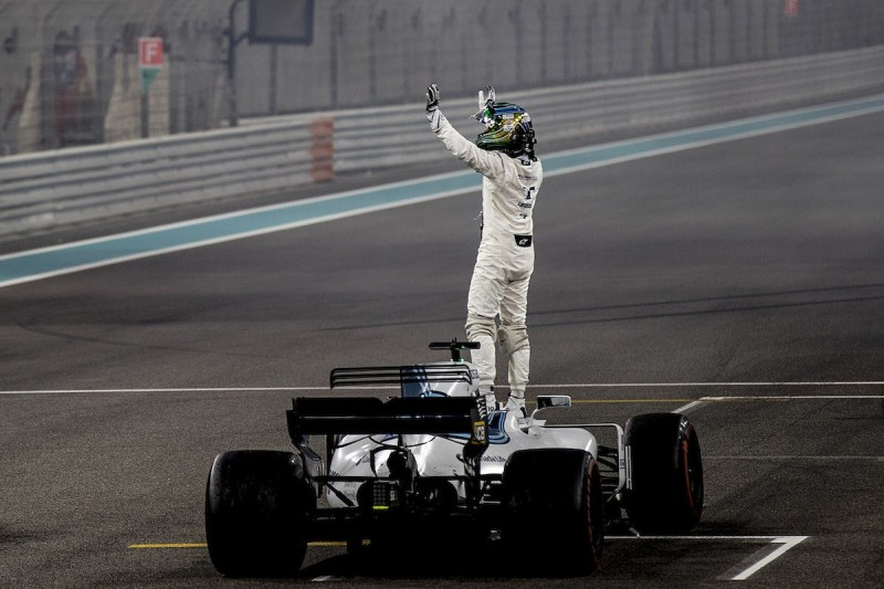 Felipe Massa ended his F1 career at the top, says Williams' Smedley