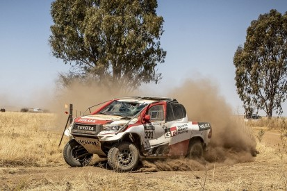 """Alonso rolled, hit bird on """"nightmare"""" first rally raid with Toyota"""