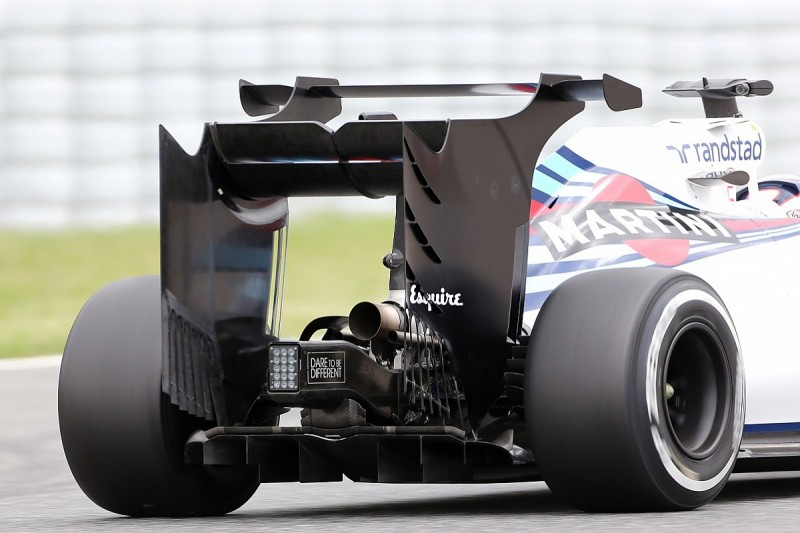 F1 testing: Williams to let Felipe Massa try radical rear wing