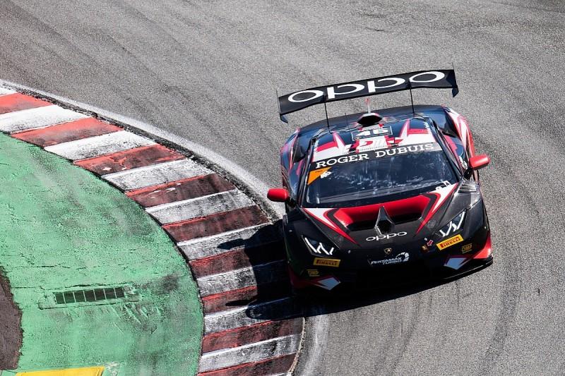 Gdovic in sight of Lamborghini Super Trofeo lead at Laguna Seca