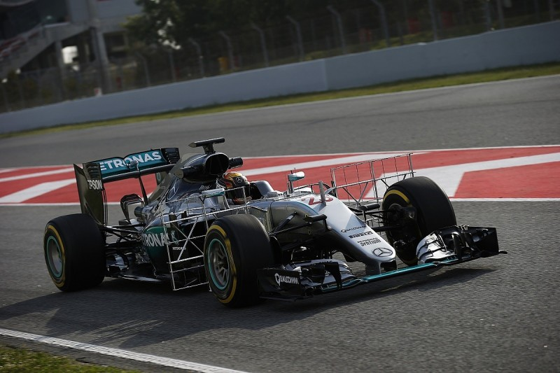 F1 testing: Mercedes brings in Pascal Wehrlein to try new parts