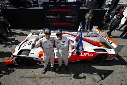 Juan Pablo Montoya and Dane Cameron win Laguna Seca IMSA