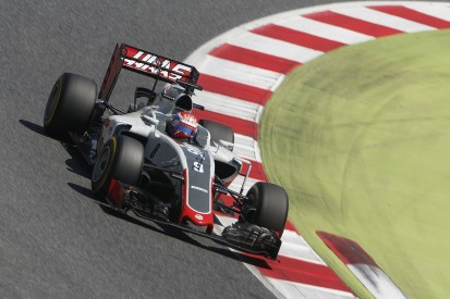 Haas F1 team to try new chassis for Grosjean in Barcelona test