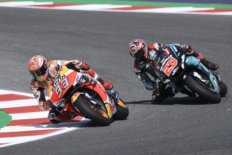 """Quartararo: Marquez Misano MotoGP battle """"best moment of my life"""""""