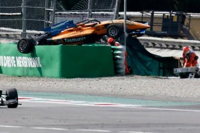 "Alex Peroni was ""knocked out"" in massive Monza Formula 3 crash"