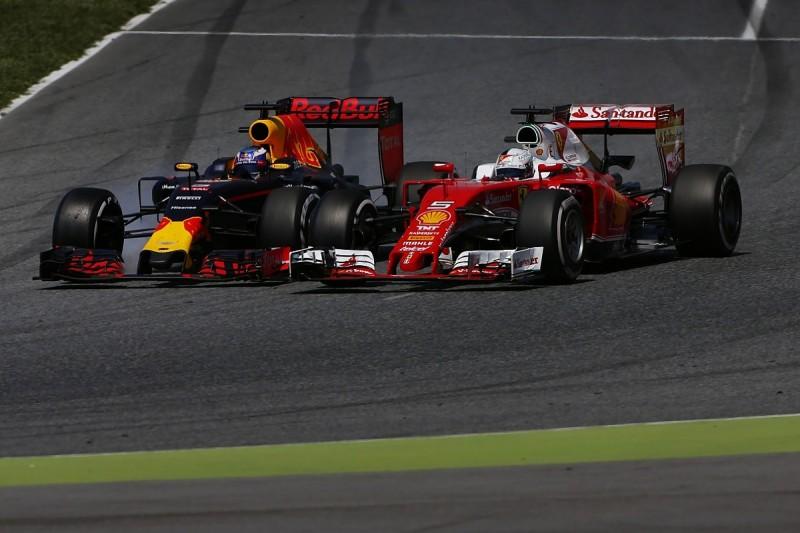 Red Bull not a major Formula 1 threat to Ferrari, Vettel believes