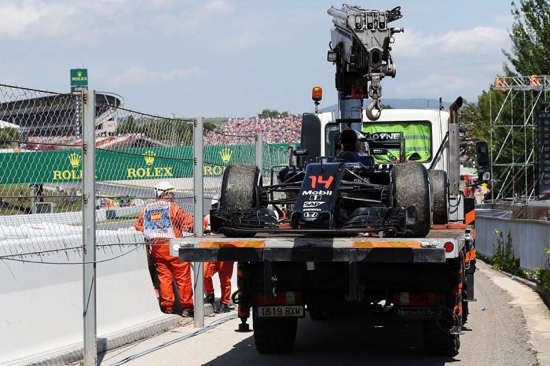 Spanish Grand Prix: Honda software problem forced Alonso out