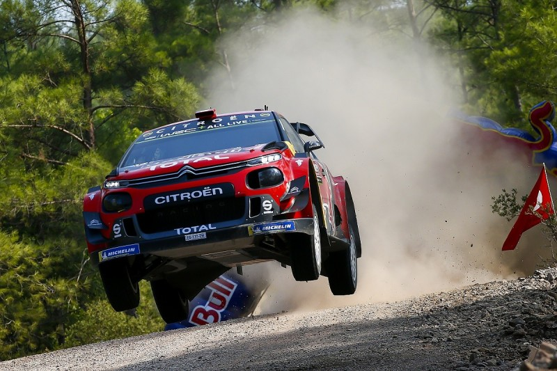 Ogier takes WRC Rally Turkey lead from Citroen team-mate Lappi