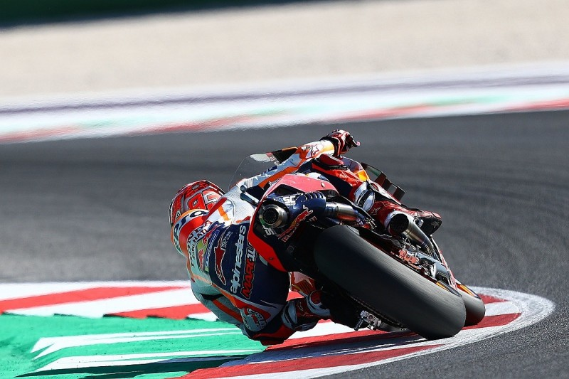 """Marquez confused by Rossi's Misano MotoGP qualifying """"intention"""""""