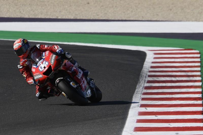 "Dovizioso: Ducati ""expected"" Misano MotoGP struggles after test"