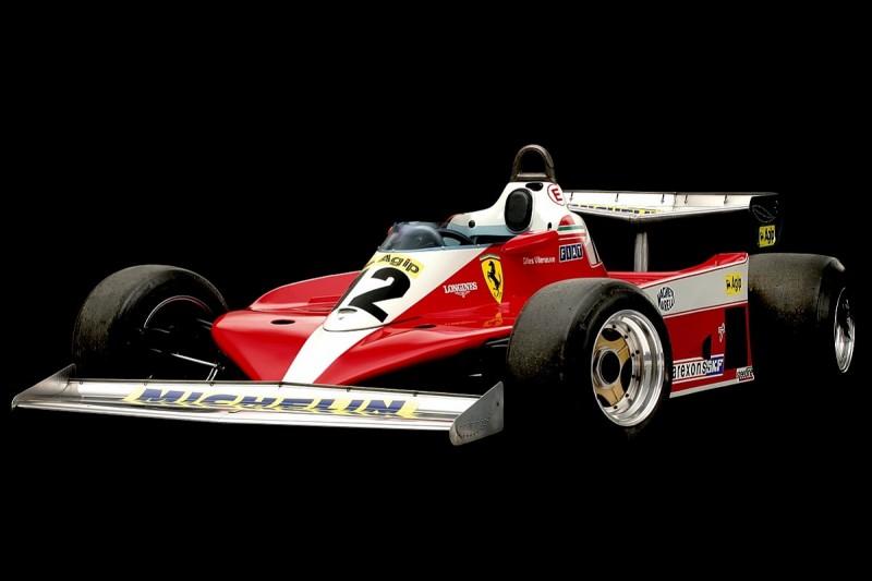 Gilles Villeneuve's first winning Ferrari Formula 1 car