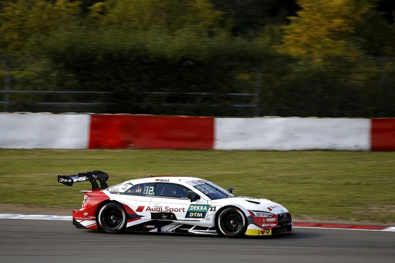 Rast bags Nurburgring DTM pole, BMW back on front row