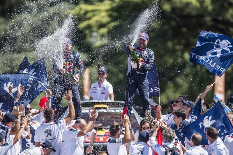 Peugeot's Peterhansel will support Loeb's Dakar Rally win bid