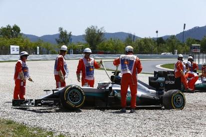 No penalties for 'racing incident' Hamilton/Rosberg collision