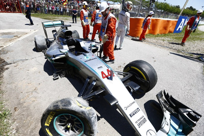 Hamilton and Rosberg still free to race after Spanish GP F1 crash