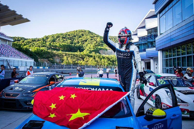 Muller takes first win for Cyan Racing in opening WTCR Ningbo race