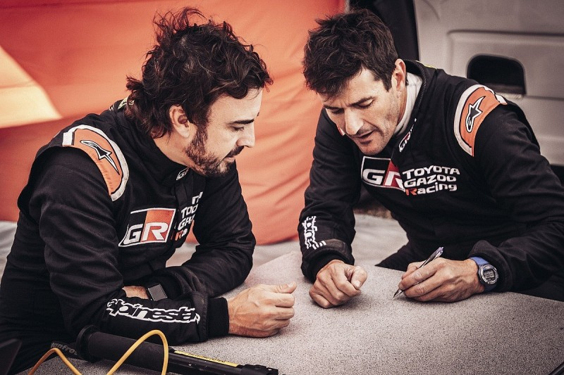 Coma to act as Alonso's Dakar Rally co-driver at Toyota in 2020