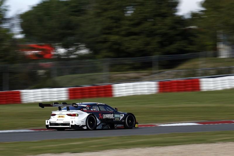 Rockenfeller fastest in Nurburgring DTM practice as Audi dominates