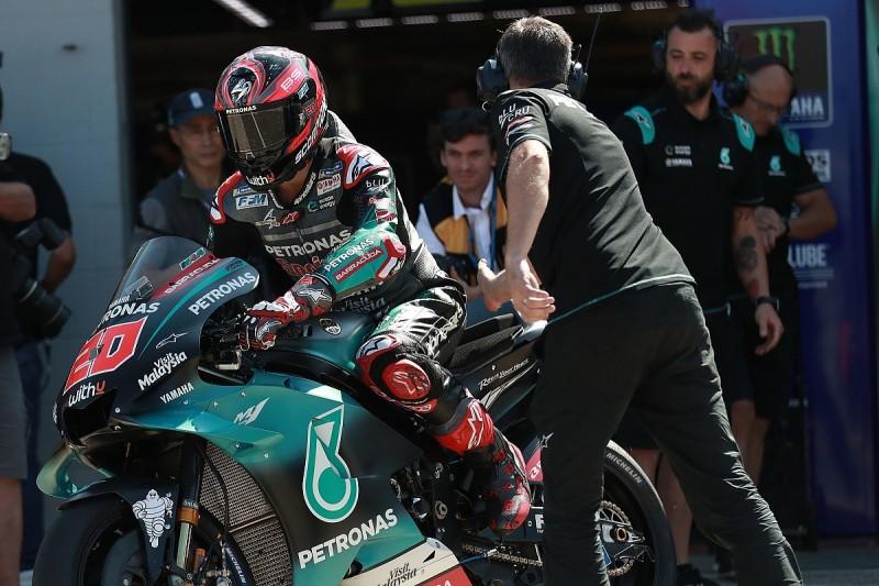 Quartararo leads opening Misano MotoGP practice