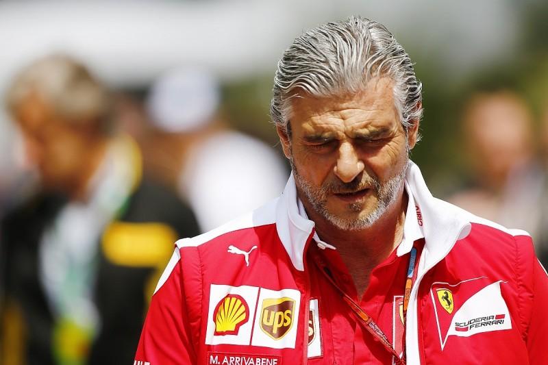 Ferrari chief Marchionne insists team boss Arrivabene's job is safe