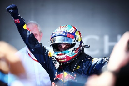 Max Verstappen becomes F1's youngest winner on Red Bull debut