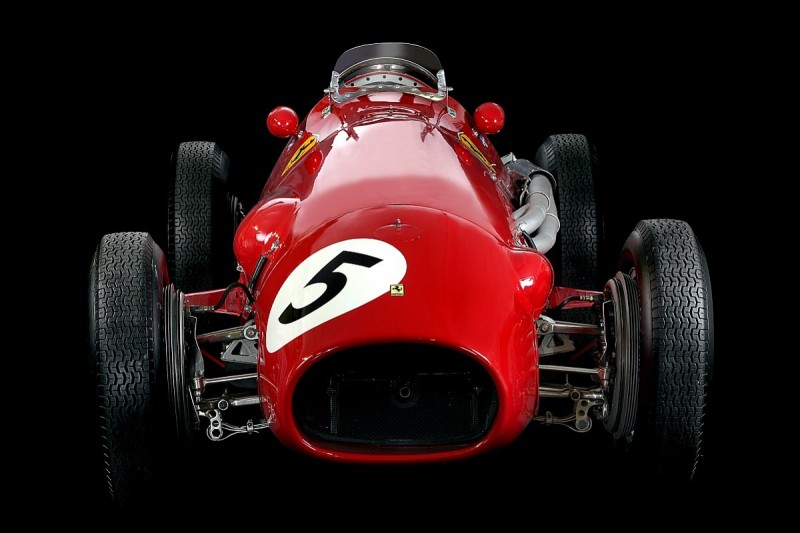 Ferrari's first world championship winning Formula 1 car