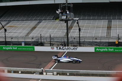 Dean Stoneman claims his first US win in Indianapolis Indy Lights