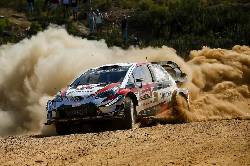 Toyota makes pre-Turkey WRC changes to remove rough-surface weakness