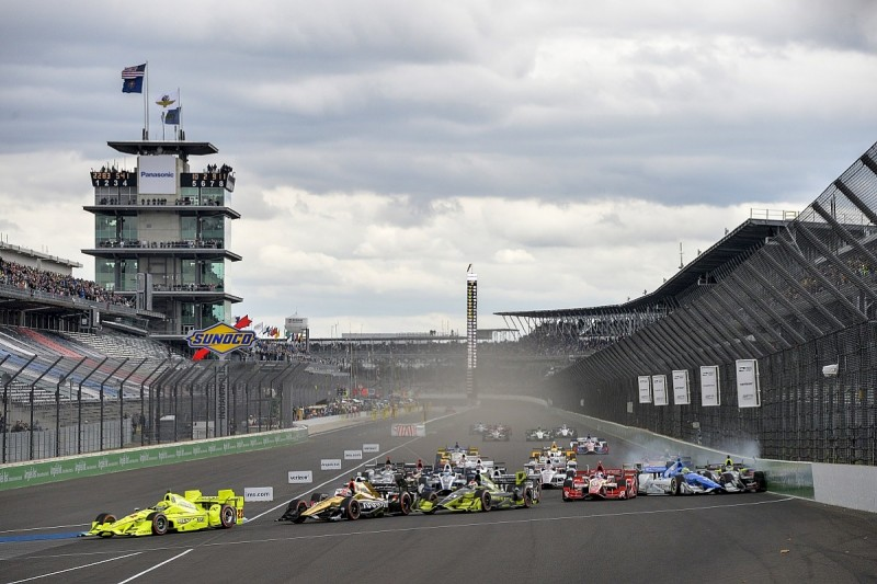 Simon Pagenaud claims third straight IndyCar win at Indianapolis
