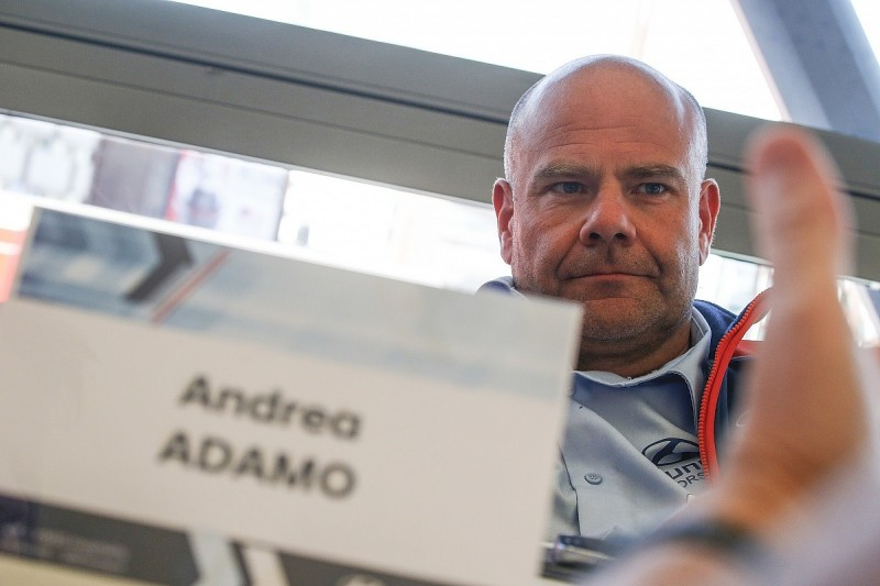 Hyundai boss Adamo putting pressure on himself in WRC title battle