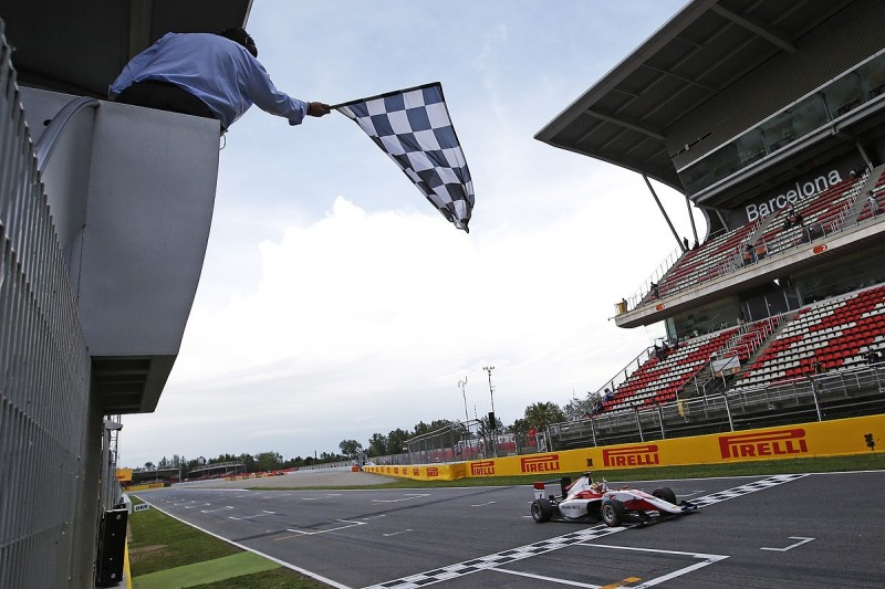 GP3 Barcelona: Ferrari F1 junior Charles Leclerc dominates race one