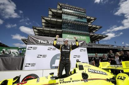 Simon Pagenaud on Indianapolis GP pole amid qualifying upsets