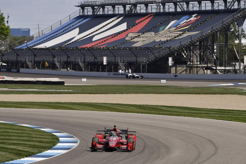 Rahal and Newgarden put to back of GP of Indianapolis IndyCar grid