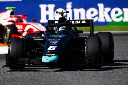 Spin on F2 sprint race formation lap caused Latifi title bid blow