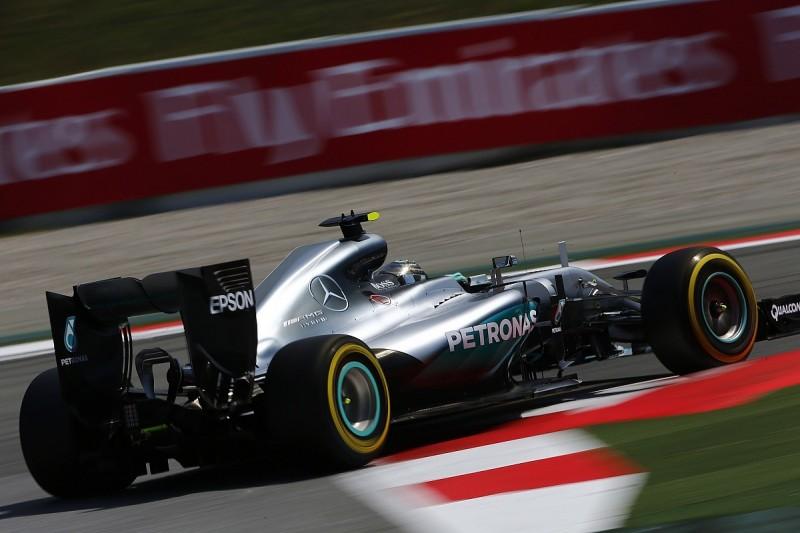 Spanish Grand Prix practice: Rosberg fastest, Ferrari still close