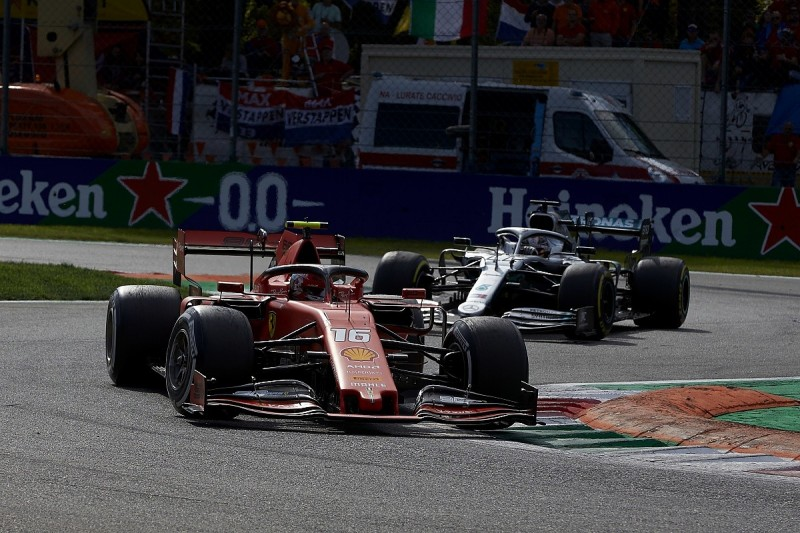Leclerc tried to be on 'limit of acceptable' racing in Italian GP