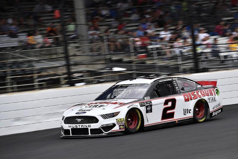 "Keselowski slams ""atrocious angle"" of Indy wall after NASCAR crash"