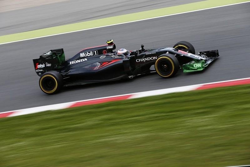 Jenson Button F1 Spanish GP practice a 'pretty bad day'