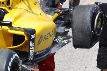 Pirelli perplexed by F1 tyre failure on Palmer's Renault
